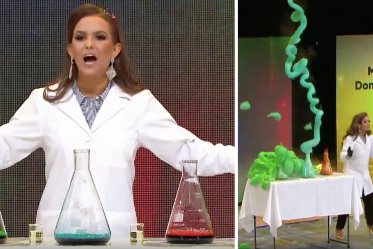 Miss Virginia 2019 is a biochemist, crowned after performing a science experiment for her talent.