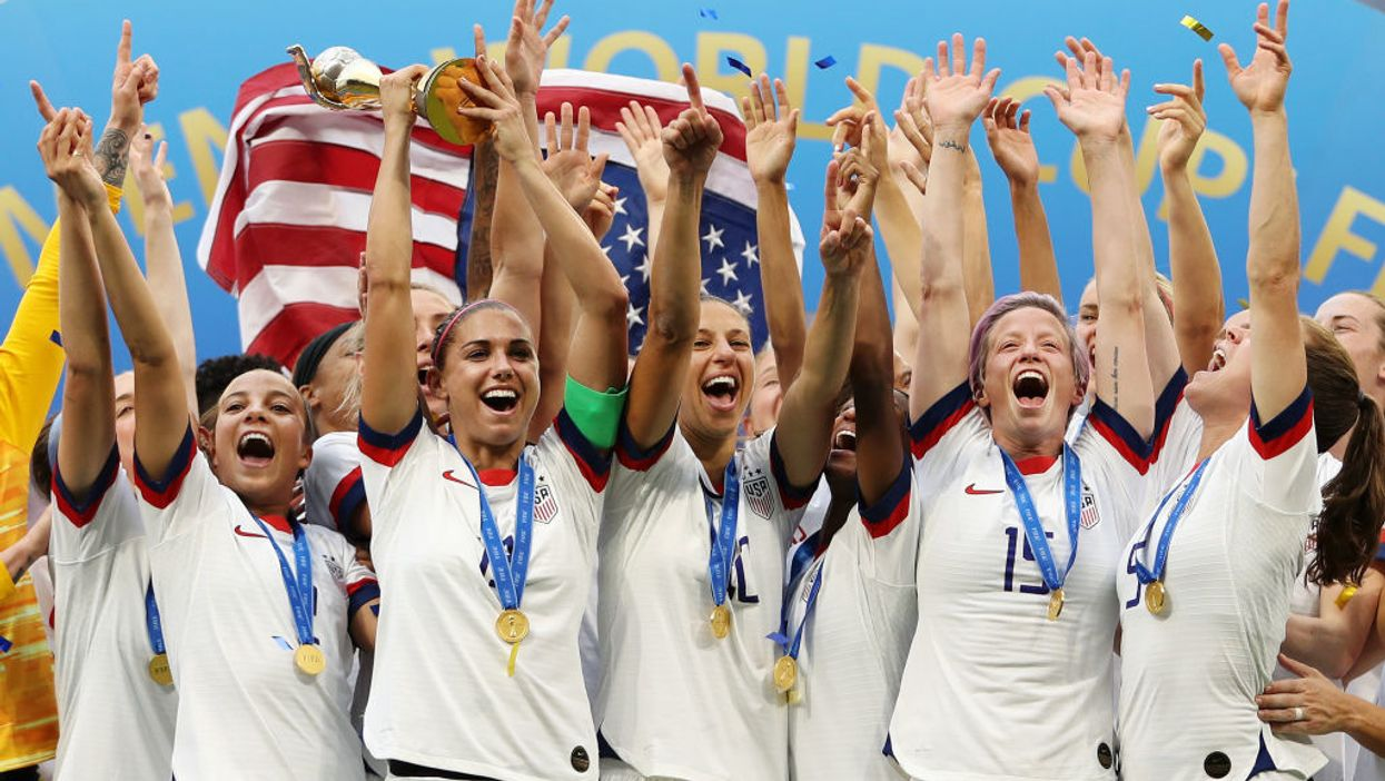 What explains the pay gap in women's soccer?