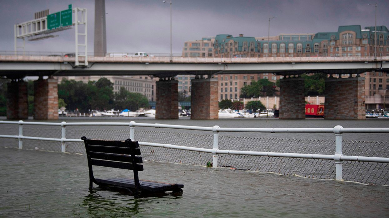 Flooding Disrupts DC as Capital Receives Month's Rain in 1 Hour