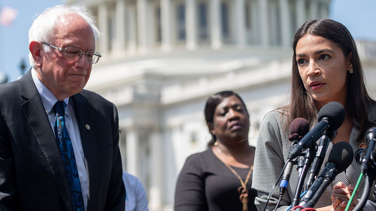 AOC, Bernie Sanders to Introduce Emergency Resolution Calling Climate Crisis an 'Existential Threat'