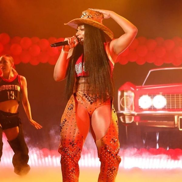 Megan Thee Stallion Turned Up the Heat For 'Kimmel' Debut