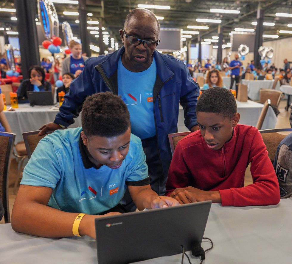 AI is the future of tech. This program is ensuring that the next generation of leaders is prepared. - Upworthy