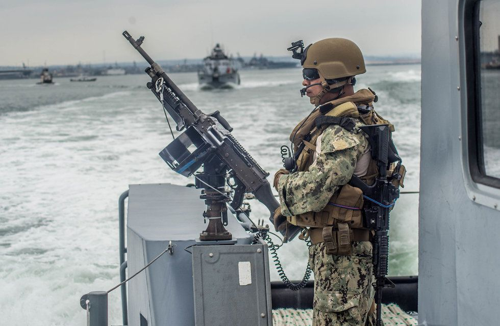 Navy Riverine Squadrons Packing New Firepower For Iran