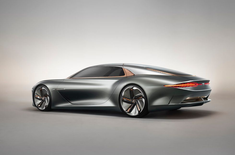 Photo of the Bentley EXP 100 GT