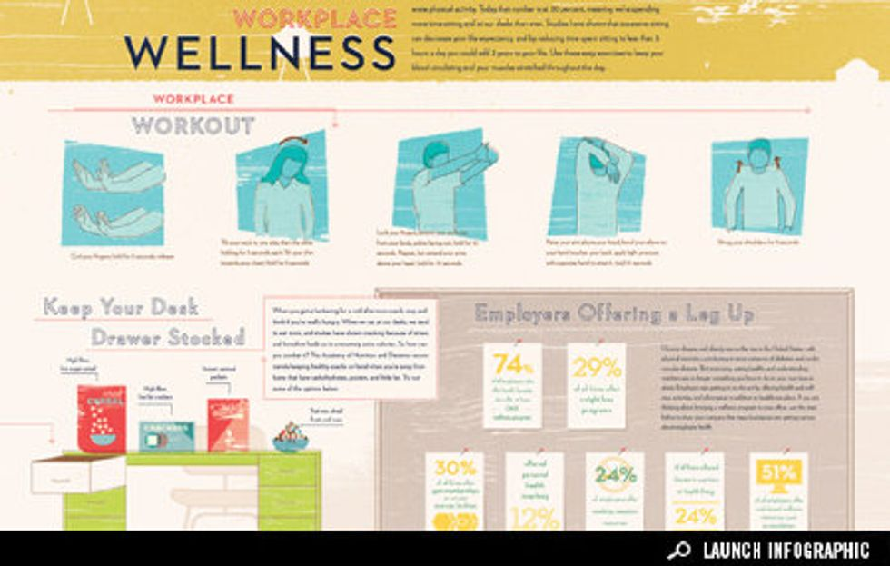 Infographic: How to Stay Healthy in the Workplace