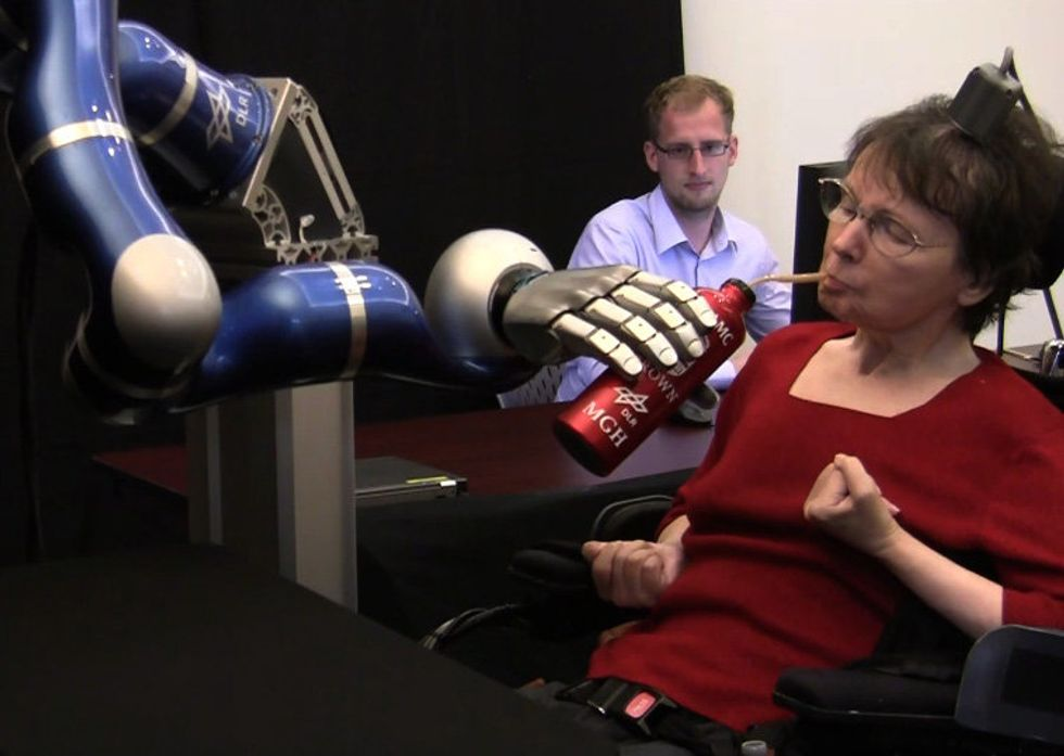 New Technology Could Help Paralyzed People Turn Thought into Action