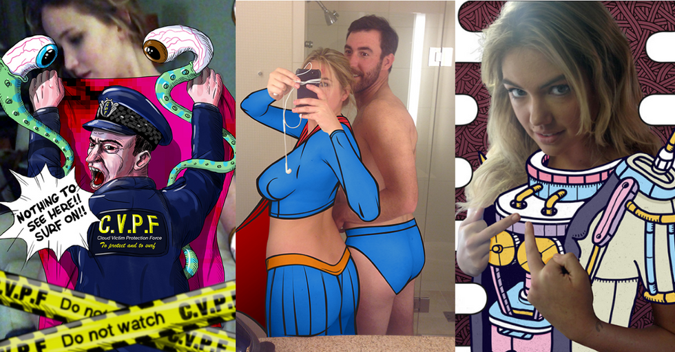 Sympathetic Artists Rush To Cover Up LeakedCelebrity Nude Pics