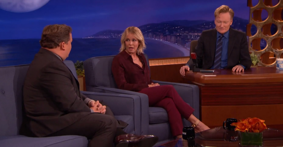 Chelsea Handler Tries Making Fun Of Andy's Weight.It Backfires Immediately.