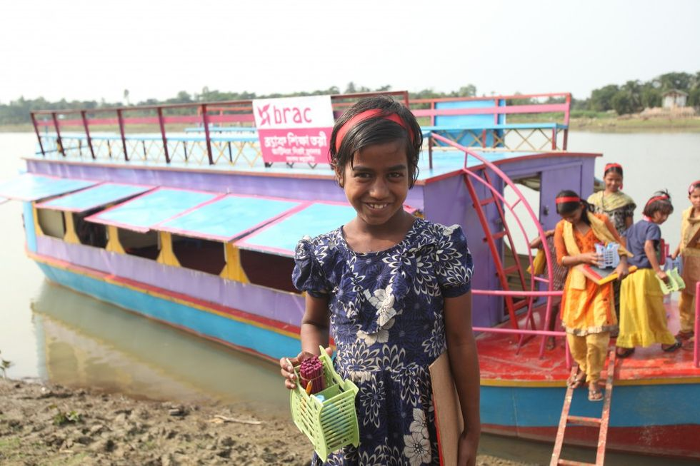 Floating Boat Schools Give Students A Second Chance