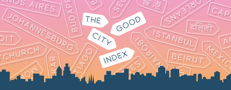 Introducing The 2014 GOOD City Index
