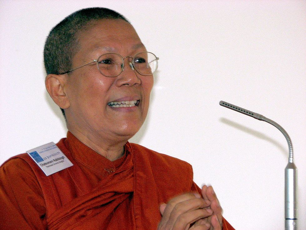 Female Monks Challenge Buddhism's Misogynistic Tendencies