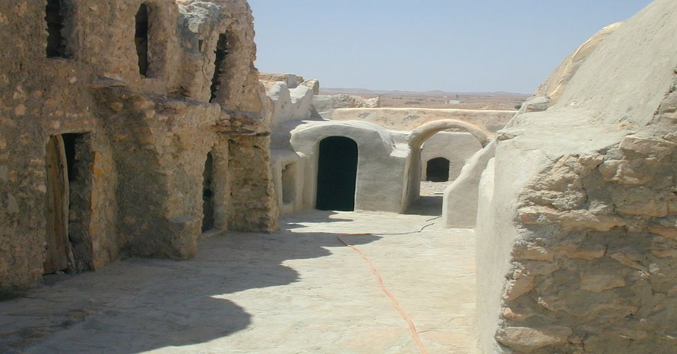 Star Wars Fans Save Darth Vader's Home From Menacing Sand Dune