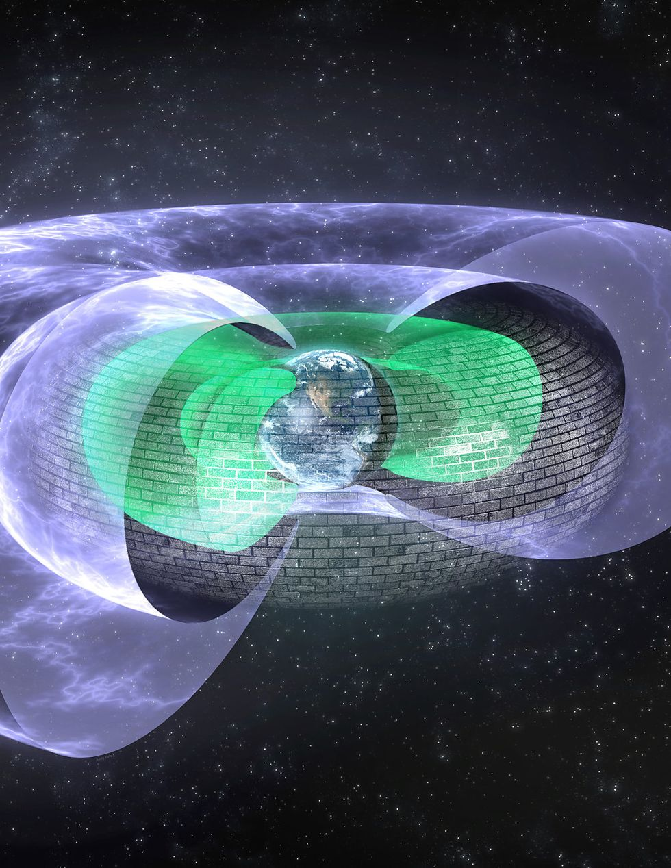 Scientists Discover an Invisible Shield Protecting Earth