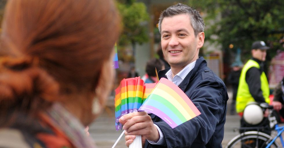 Poland's First Openly Gay Mayor Gives up Limos for Bikes
