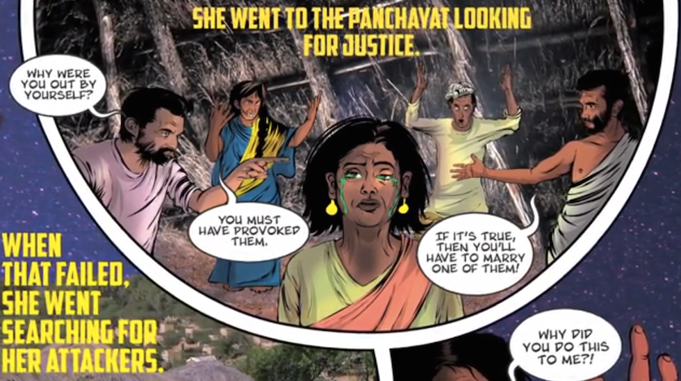 India's New Comic Book Superhero is a Rape Survivor