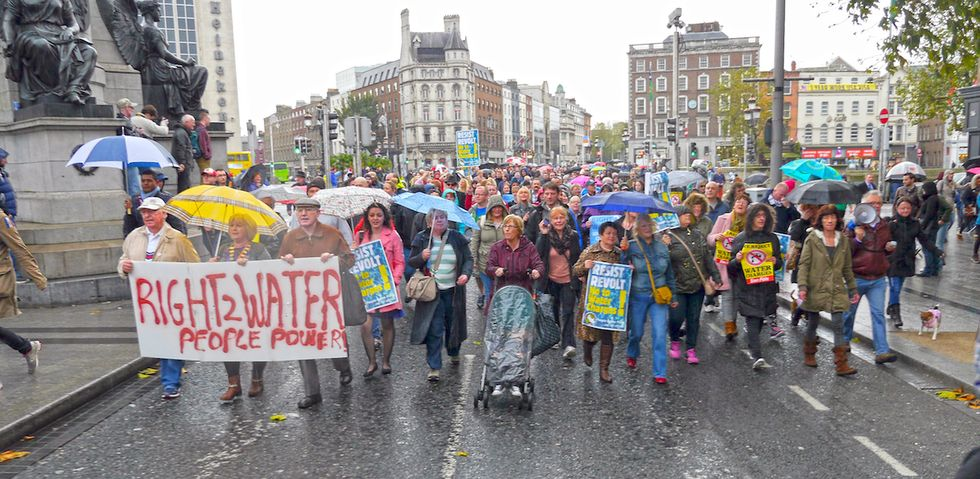What's the Detroit Water Brigade Doing In Ireland?