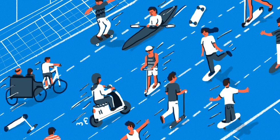 Skateboarding City Planners Could Radically Improve Transportation