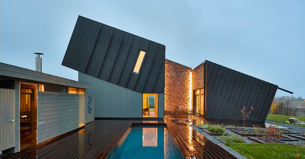 A Zero Energy House That Truly Pulls Its Weight