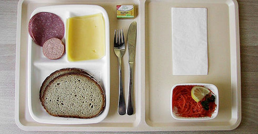 Here's a Radical Thought: Hospital Meals That Are Good For You