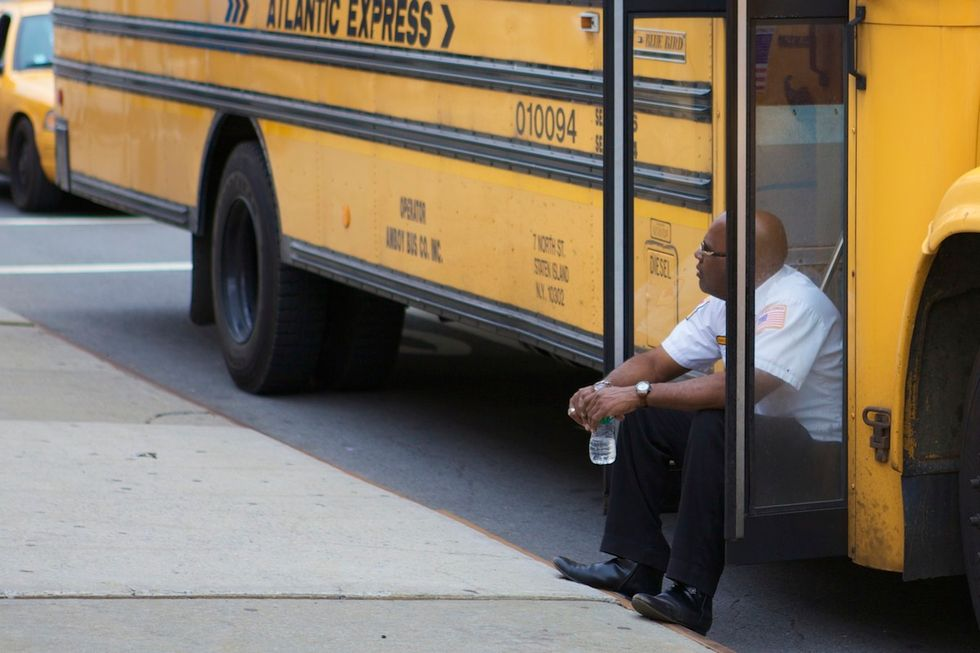 Bus Drivers The Latest Targets of Anti-Sitting Extremism
