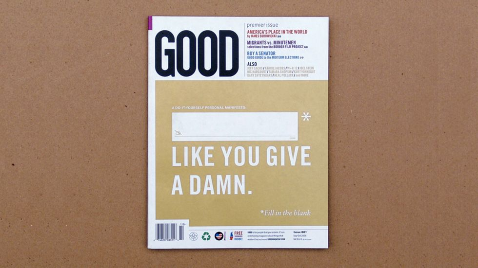 The Guy Who First Designed GOOD Now Has a Book. You Should Buy It.