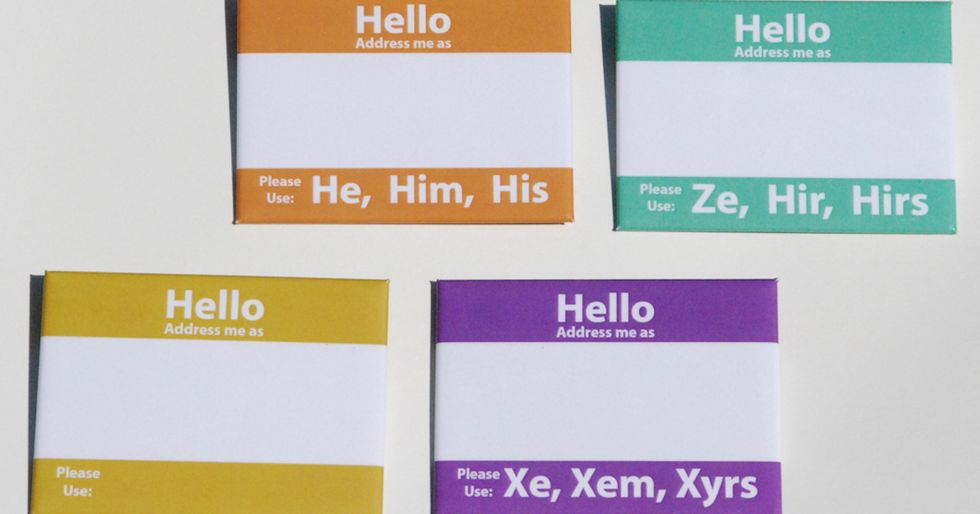 These Name Tags Will Make You Reconsider Gender Pronouns