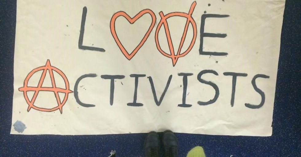 London's Love Activists Are Heroes, Not Vandals.
