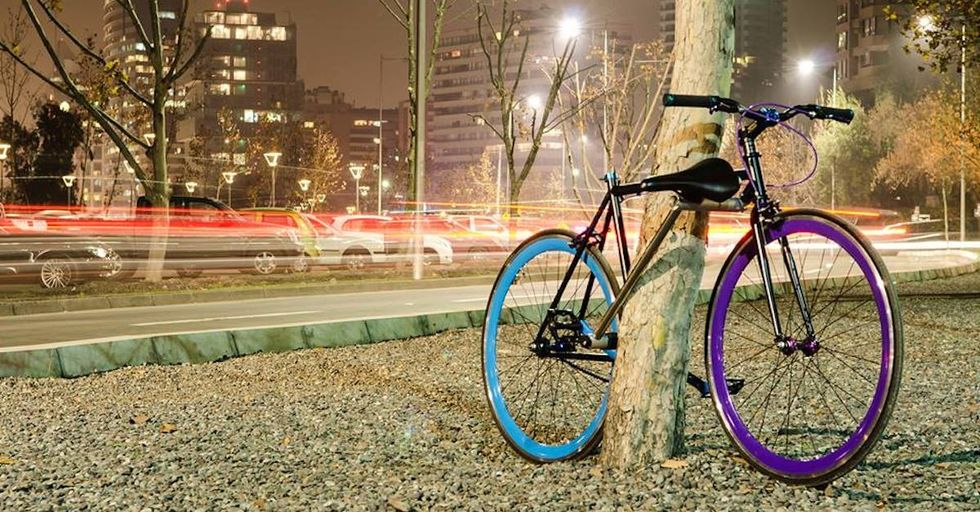 Chilean Students Design Unstealable Bike