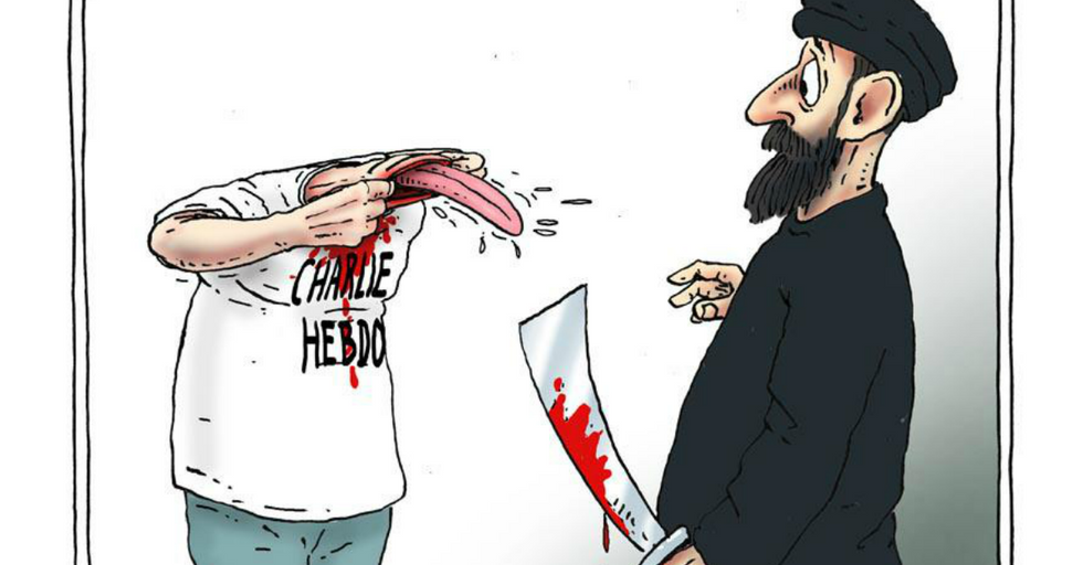 How Cartoonists Around the World Are Fighting Back Against the Terrorists Behind the Charlie Hebdo Massacre
