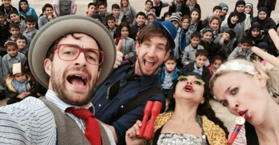 How a Troupe of Clowns is Educating Kids About Landmine Safety
