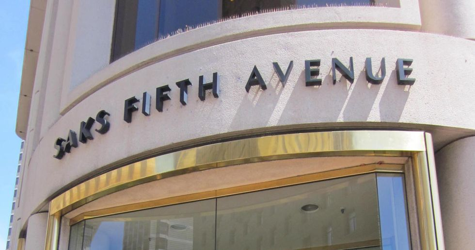 Saks Fifth Avenue Thinks Transgender People Aren't Covered by the Civil Rights Act
