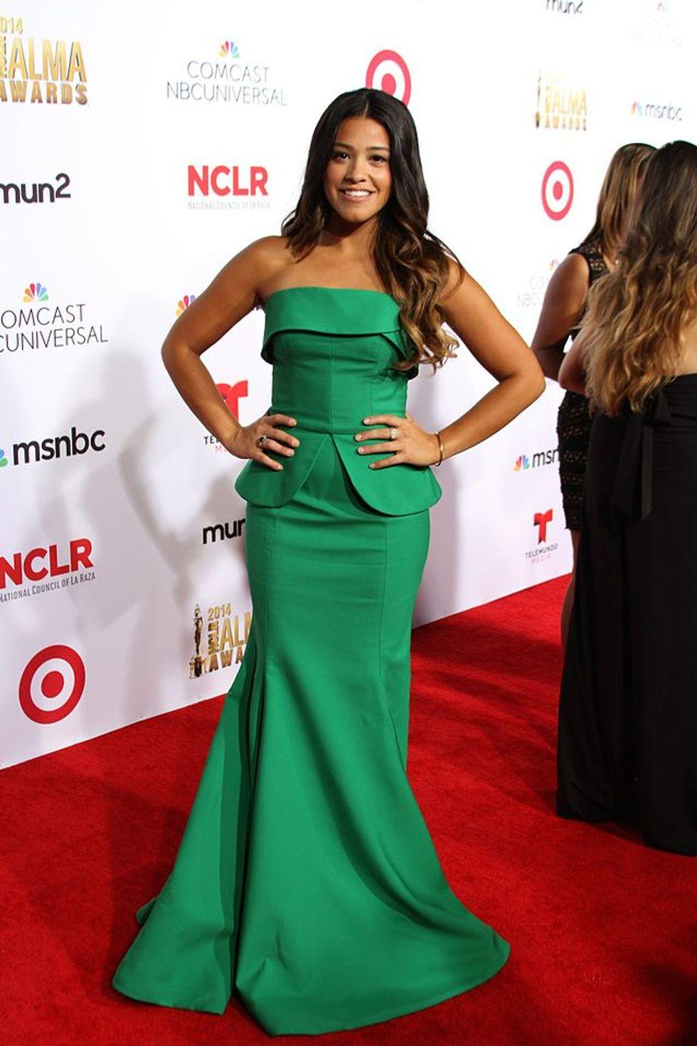 Gina Rodriguez Won the Entire Golden Globes