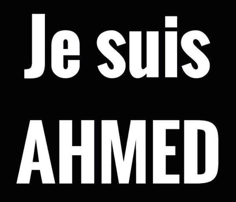 """Wait, I'm Not #Charlie. I'm #Ahmed."""