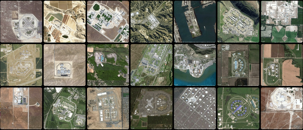 Prison Map Shows Unsettling Sprawl of America's Penitentiary System