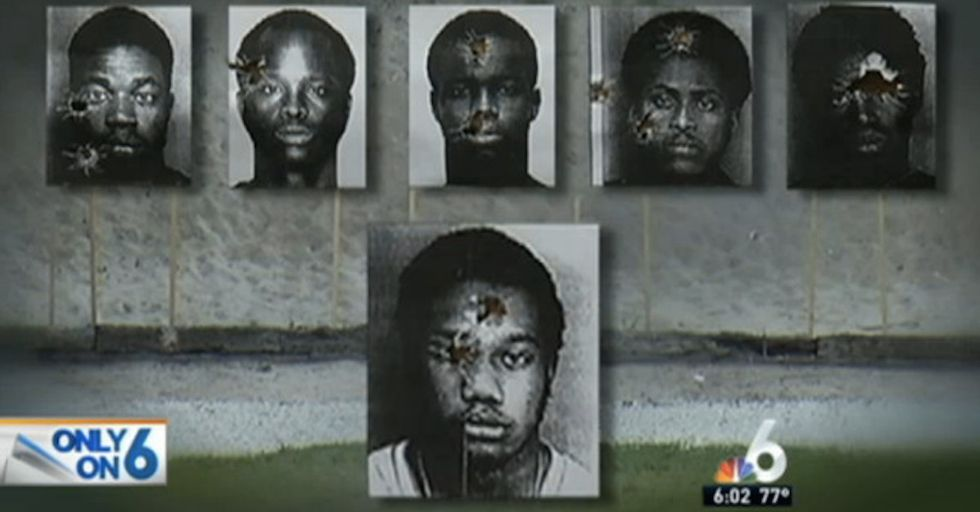 Police Department Using Photos of Black Men for Target Practice Insists It's Not Racist
