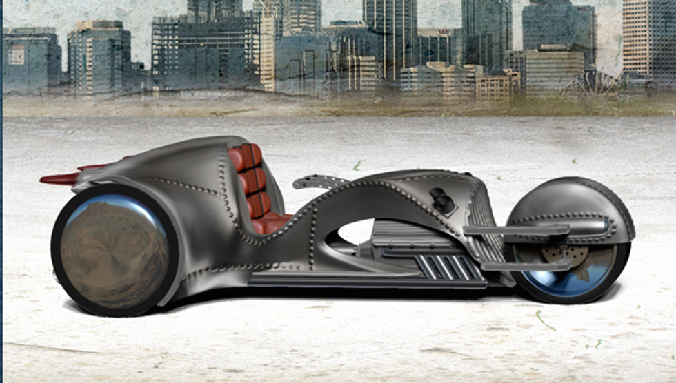 William Shatner to Drive Futuristic Supercycle Across America