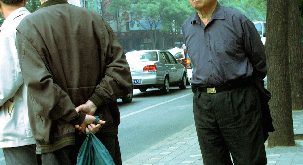 Manslamming is How Men Dominate City Sidewalks