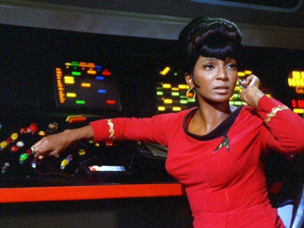 How MLK Convinced Nichelle Nichols to Stick With Star Trek