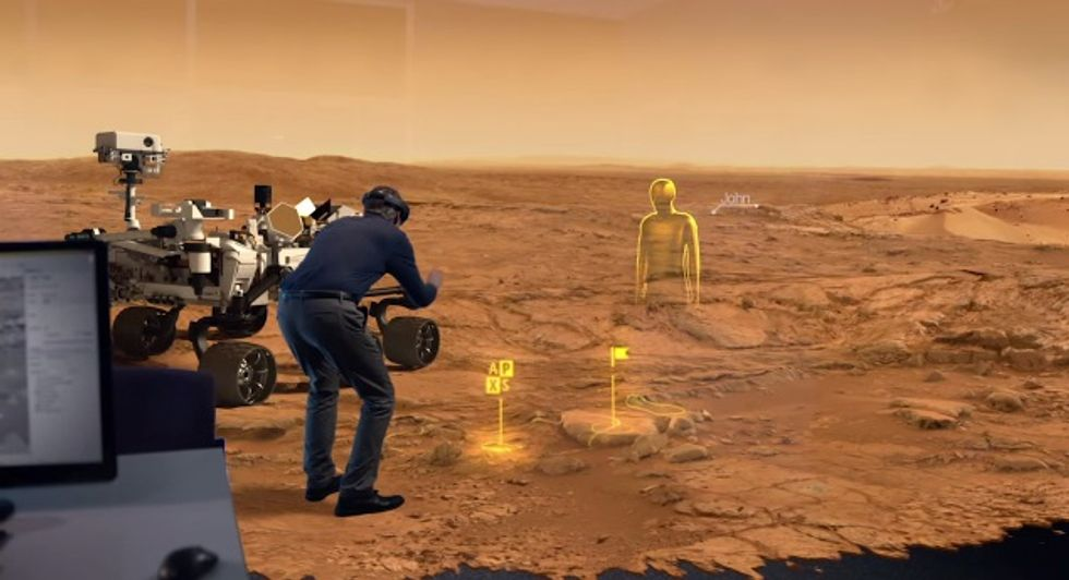 Can't Go to Mars? NASA's Holographic Glasses Could Be the Next Best Thing