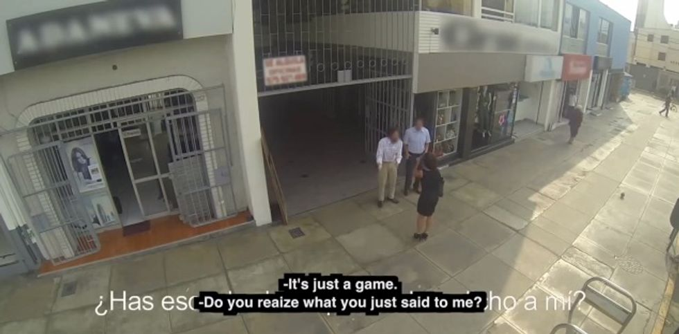 Watch These Undercover Mothers Catch Their Catcalling Sons In The Act (UPDATED)