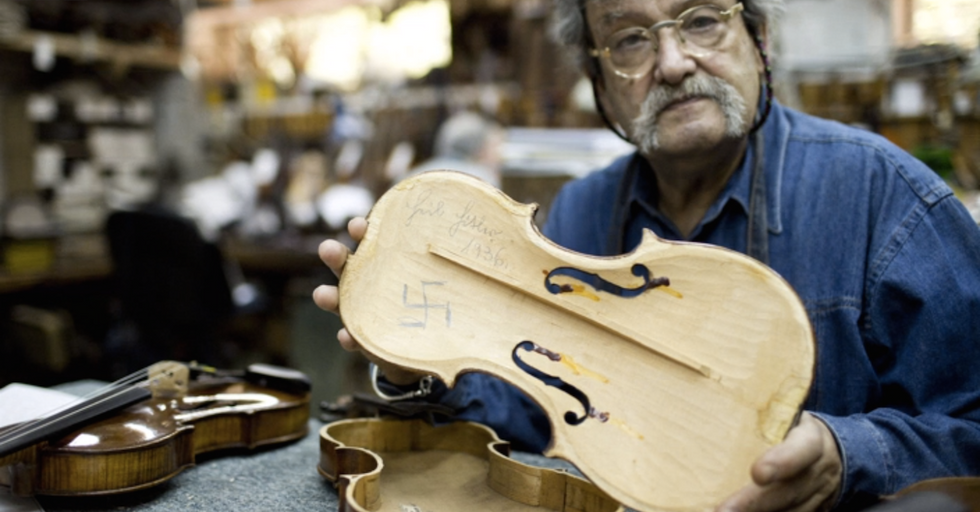 These Holocaust-Era Violins Will Play Again for the 70thAnniversary of Auschwitz's Liberation