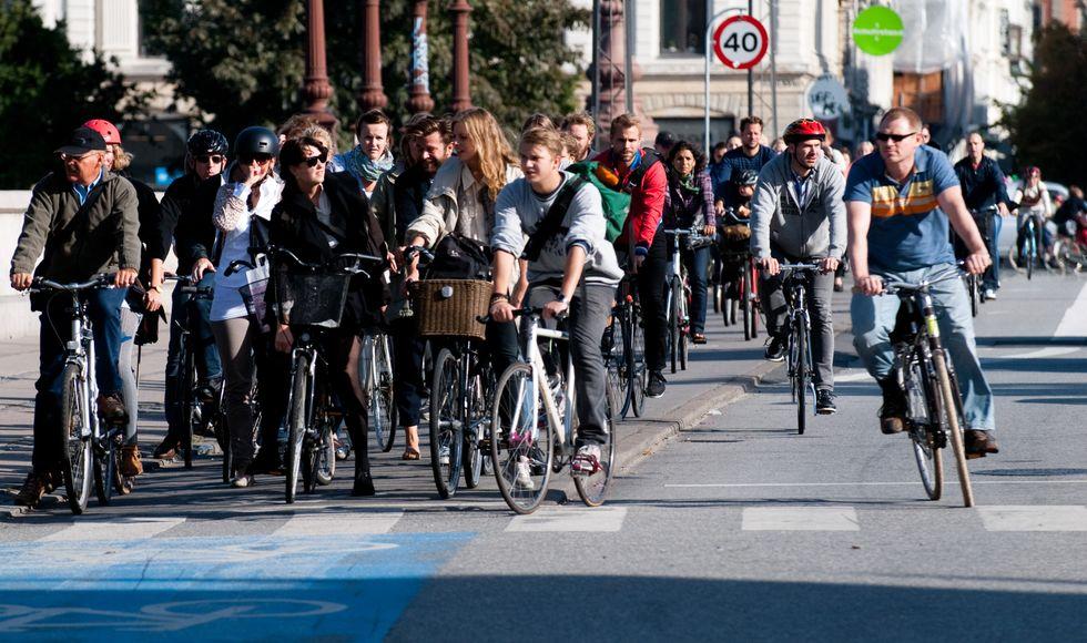 Biking With Your Brain