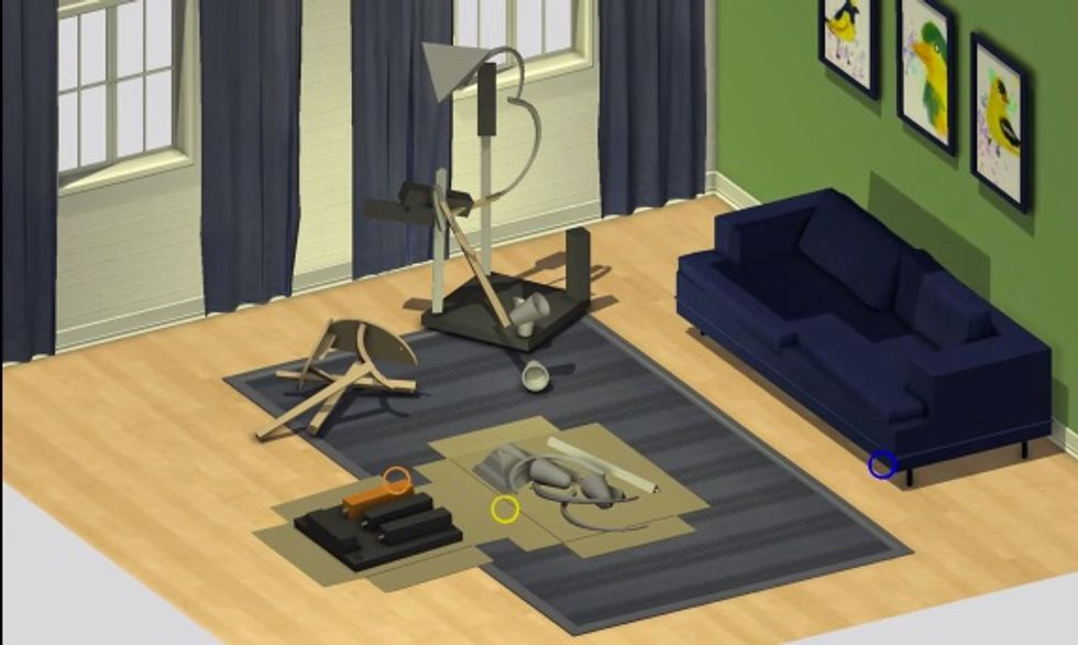 Here's That IKEA-Inspired Furniture Construction Game You Always Wanted