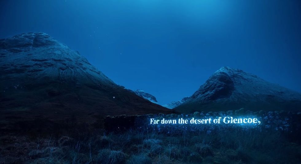 Watch as Projected Poetry Lights Up This Mountain with Verse