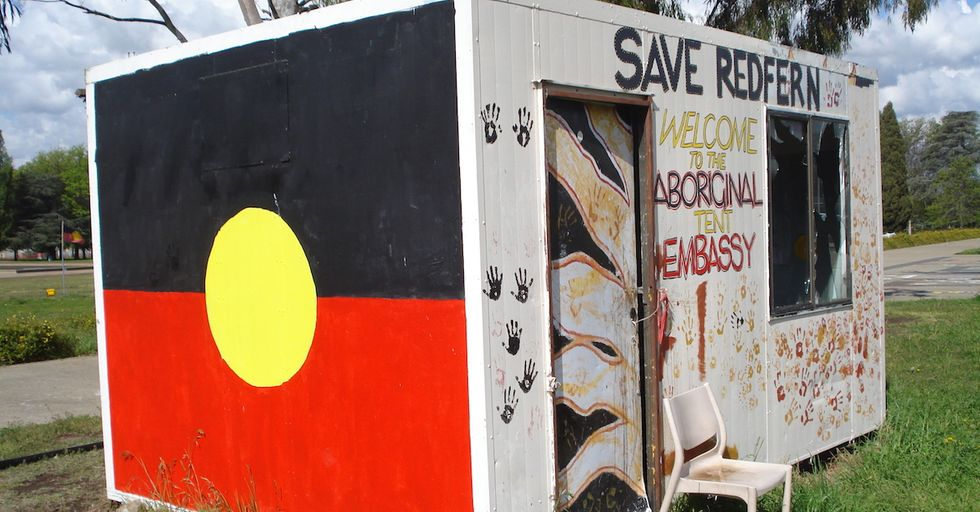 Australia's Anti-Gentrification Aboriginal Tent Embassy Perseveres