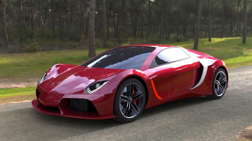 Sri Lanka's Electric Powered Supercar