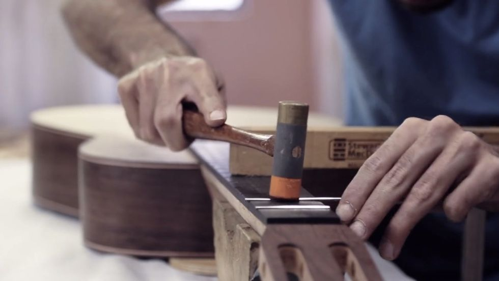 Watch This Master Craftsman Turn A Piece Of Wood Into A Gorgeous Flamenco Guitar