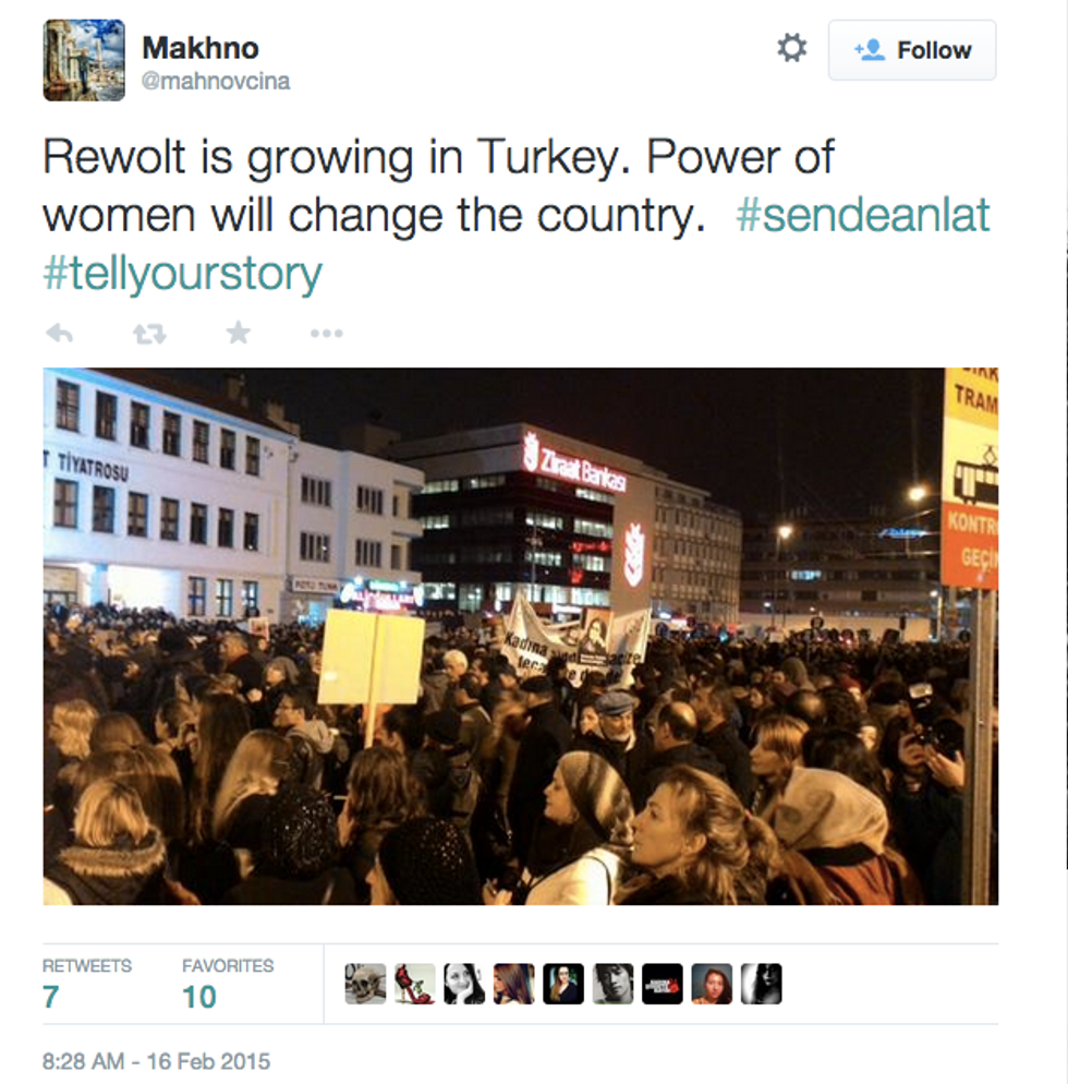 Turkish Women Protest Sexual Violence Online and in the Streets After Death of #ÖzgecanAslan