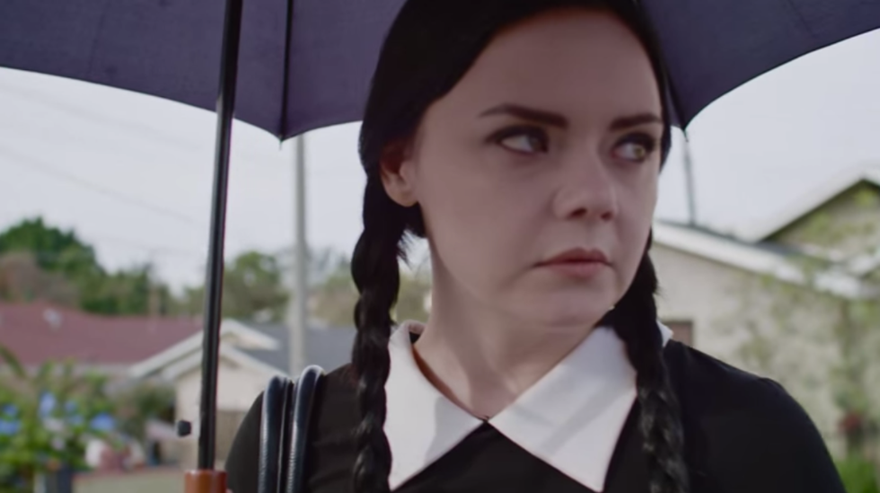 Wednesday Addams vs. The Catcallers