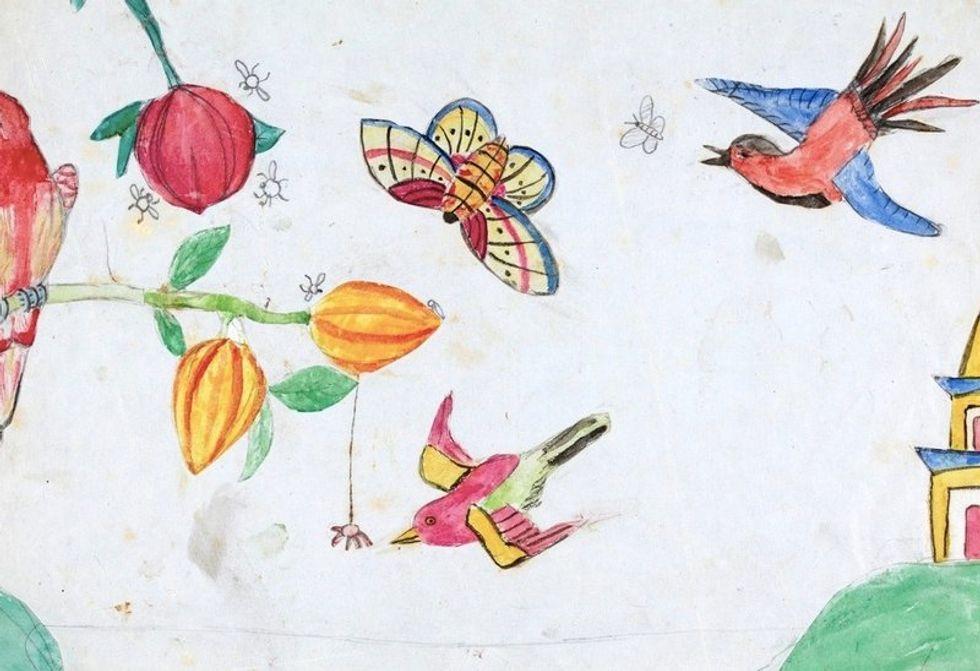 Darwin's Kids Doodled All Over His Original Manuscript